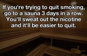 Quick smoking life hacks