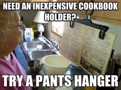 cookbook life hack
