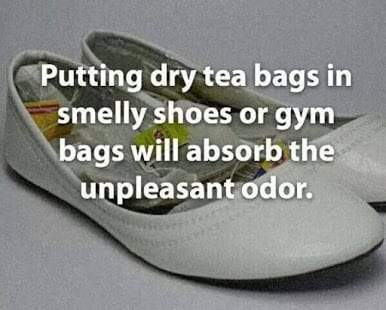 smelly shoes