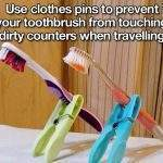 Toothbrush Life Hack