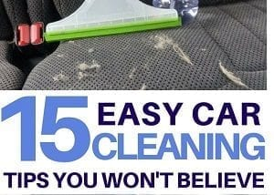 Car Cleaning Life Hacks
