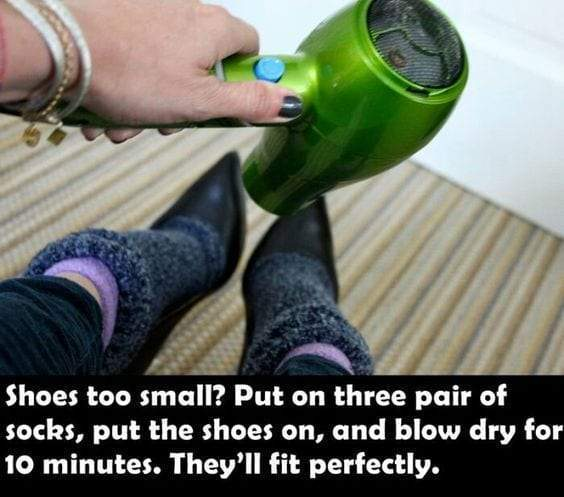 Small Shoes Life Hack