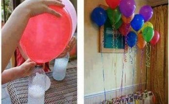 Balloons life hack