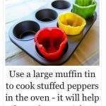 Stuffed Peppers Life Hack