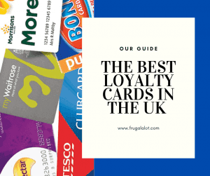 The Best Loyalty Cards in the UK