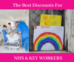 Discounts For NHS Workers During Coronavirus