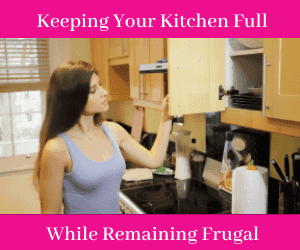 Keeping You r Kitchen Full