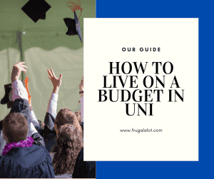 Living on a budget in university