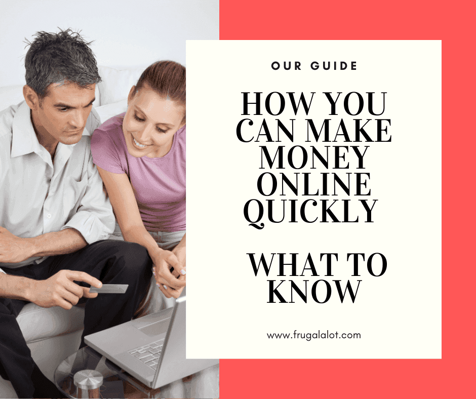 How You Can Make Money Online Quickly - What to Know